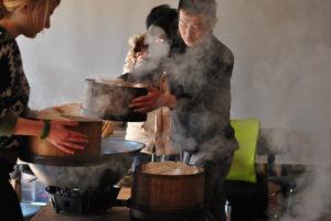Hand processing kyobancha