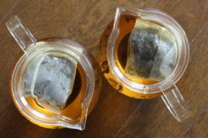 two teapots
