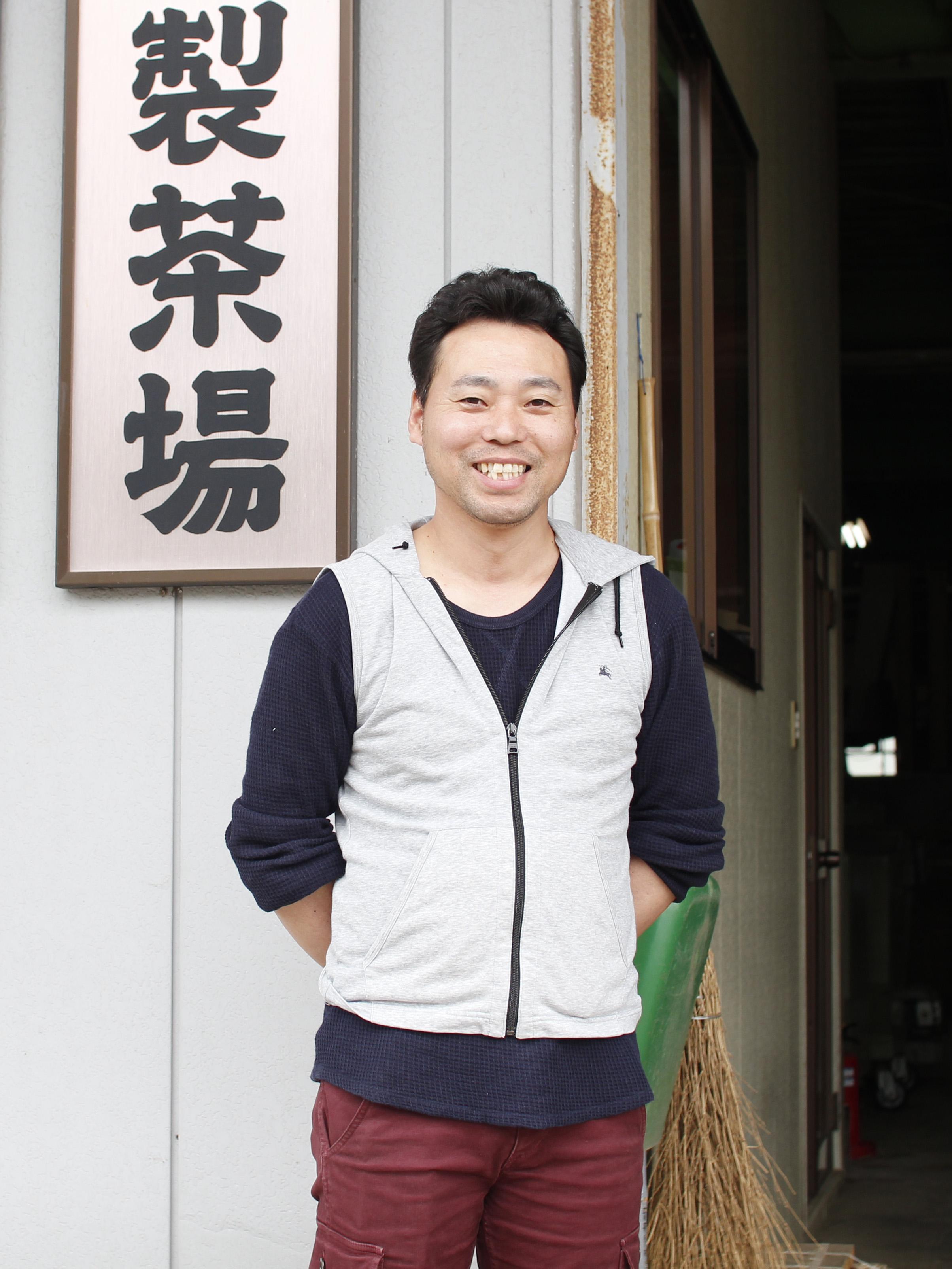 Organic Tea Farmer Nakai-san