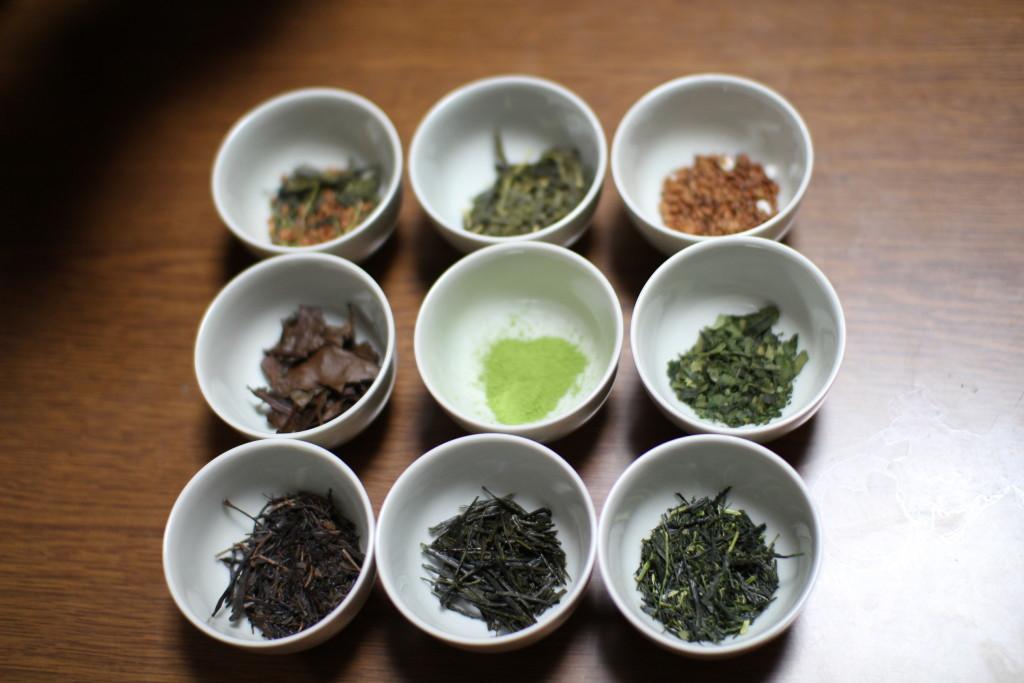 history of green tea in japan