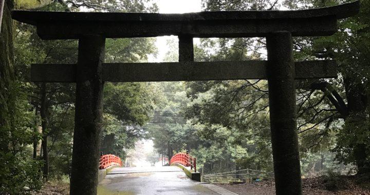 Torii gate at Tenman-gu