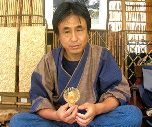 Certified Traditional Chasen Craftsman Mr. Inada Yusetsu